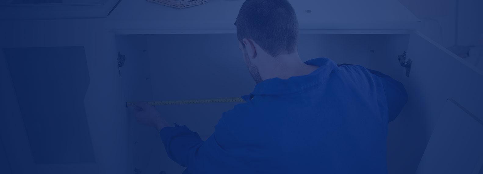 repairing plumber